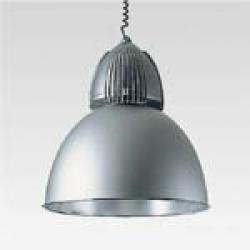 Berlino Reflector of Aluminium and Lamp pre on (qt 32 150w E27) óptica flood hie 400w e40