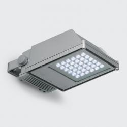 Platea projector with LED white neutral óptica Flood