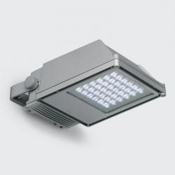 Platea projector with LED white neutral óptica Lama of light cross