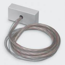 Base de Alimentación 5 Polos con Cables de Suspensión L=2000mm Base de alimentación 5 Polos con Cables de Suspensión L=2000mm
