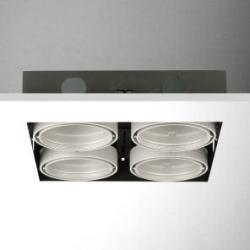 Cardan Combi (body of Recessed) cuádruple Square without Framework