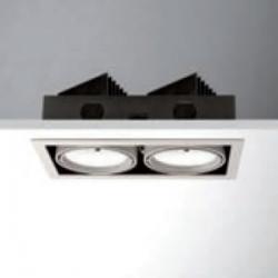 Cardan LED 2x18W (2x1200lm) Recessed Ceiling