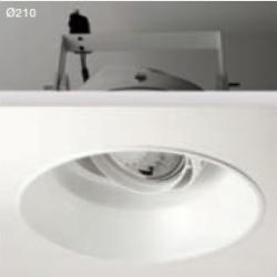Smooth Recessed adjustable HIT R 111 35W (with bulb)