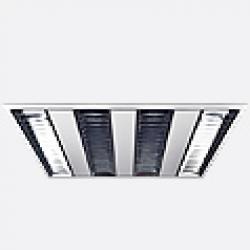 Serie Fluo Luminaria Empotrable 60cm G5 T5 HE 3x14w