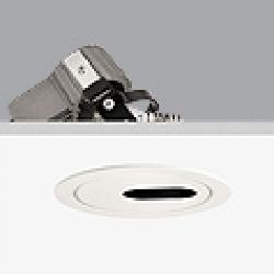 Cool Downlight con pantalla orificio lateral ø10,7cm Gx5,3 QR-CB 51 12v 50w
