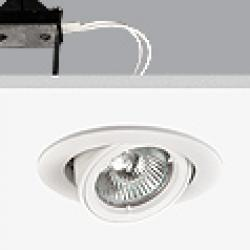 Turn & Fix Downlight orientável GU5,3 QR-CB 51 12v 50w