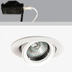 Turn & Fix Downlight orientável elevado GU5,3 QR-CB 51 12v 50w