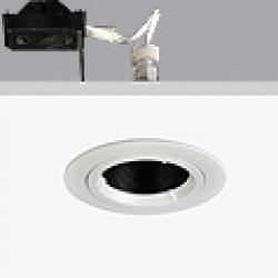 Turn & Fix Downlight orientável elevado Refletor G5,3 QR-CB 51 12v 50w