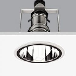 Serie 8000 Dowlight ø17,5cm Reflector Plata G24q-1 TC D EL 13w