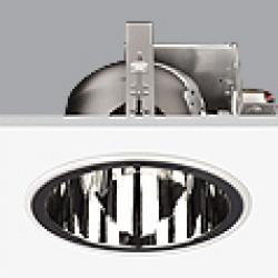 Serie 8000 Dowlight ø22cm Reflector Aluminio G24d-1 TC D 2x13w