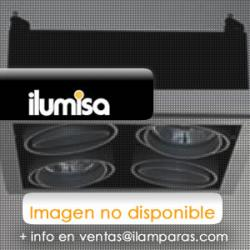 Turn & Fix Downlight Filtro e abajur ø8,1cm G5,3 QR-CB 51/10º 12v 50w