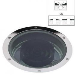 Azur up luz IP67 IK9 TC TEL 2x42W 230V Inox 316L
