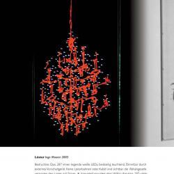 LÜster Pendant Lamp roja