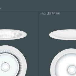 Nitor RV FH LED 2500 27w 3000K DEB dali blanco