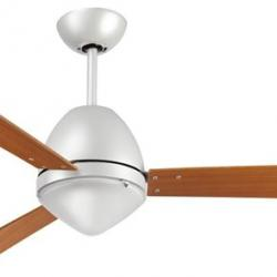 Scirocco Fan with light ¸105cm 4 blades cherry Bronze