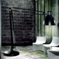 The Great JJ lámpara of Floor Lamp OUTDOOR Fluorescent GRIGI