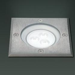 SD 300S Square LED 3x1,2w 350MA N/WHITE A.