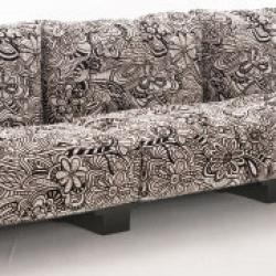 Pop sofa modular black structure 2 palzas
