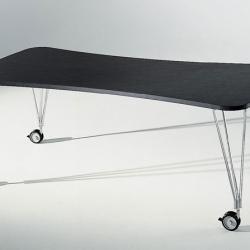 Max Tisch mit Rollen 160x80cm