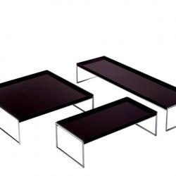 Trays low shelf rectangular 140x40cm