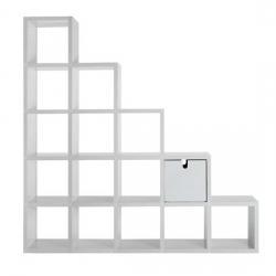 Polvara (accesorio) Librería Modular junta Angular cuádruple 3,5x7cm