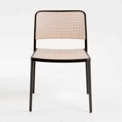 Audrey chair without arms Aluminium varnished (2 units packaging)