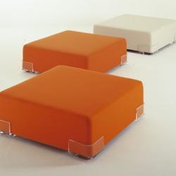 Plastics Duo Pouf 114x34cm