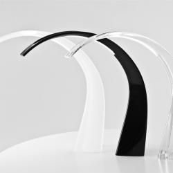 Taj Tischleuchte Transparent/Opaco