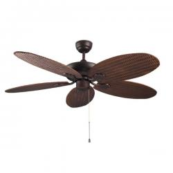 Phuket Fan without light ø132cm Brown Cobrizo