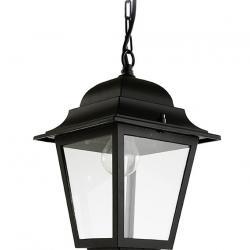 Olimpo Lámpara Colgante 22x22x38cm negro