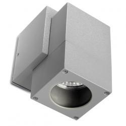 Icaro Aplique Exterior 6x10x12x8cm gris 1xGU10 50W