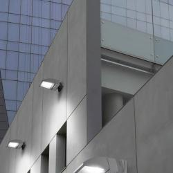 Pompeya Aplique Orientable 70W halogenuros gris