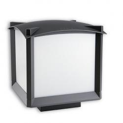 Mark Lantern 25x25x24cm Grigio Urbano 1xE27 MAX 100W