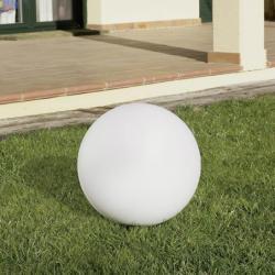 Cisne Lampe de Extérieure ø30cm 1xE27 / 1 x PL elect E27 blanc