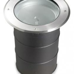 Gea Recessed suelo 22x26cm G12 HID 70w Stainless Steel AISI 304