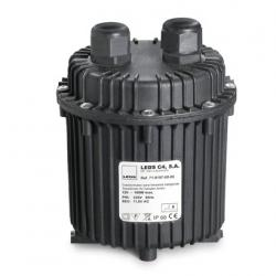 Transformador estanco per lámparaas Halogen 230/12V DC 100W IP68 1m