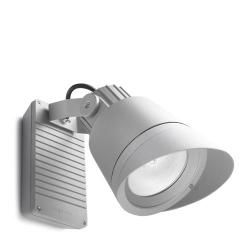 Hubble Wall Lamp Outdoor 20x34x47cm G12 70W HID Grey
