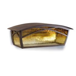 Alba Wall Lamp Outdoor 13x36x15cm Brown oxido 1xE27 MAX 100W