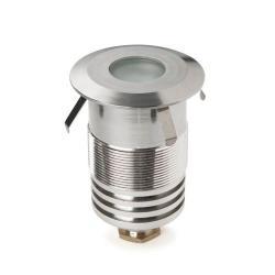Gea Recessed suelo 6x9cm LED Cree 1w Aluminium Anodized