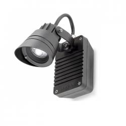 Hubble Wall Lamp Outdoor ø7cm LED 3x3w 4200K Grey