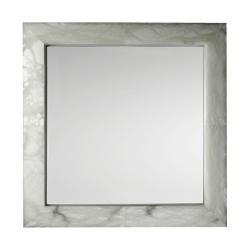 mirror Evolution Square Chrome Alabaster white