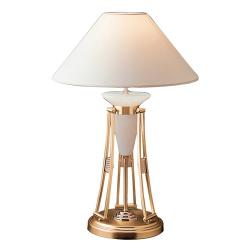 Nilo Table Lamp Gold/Patine rojizo