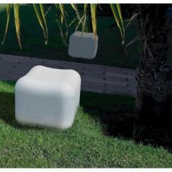 cubo / asiento de cores LED RGB 3 x 1W