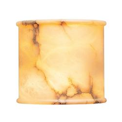 Wall Lamp white Alabaster champan