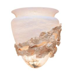 Wall Lamp Color Stone Alabaster white