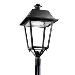 Bohemia Solar Cabezal Farola 28 x LED Osram 65W 6.117 lm 4000K negro forja