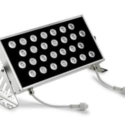 Ray projector 28 x LED Cree 48W white cálido 3000K 4046 lm(N) Anodized