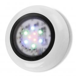 Aqua proyector para piscina de Superficie ø18cm IP68 LED 3x3w blanco Neutral 4200K