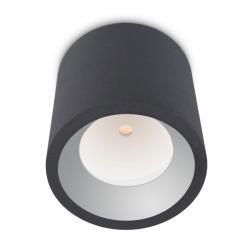 Cosmos Plafón LED Cree 12W 3000K 1290lm gris Urbano