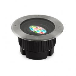 Gea Empotrable suelo Circular 9 LED Cree 14W RGBEASY+